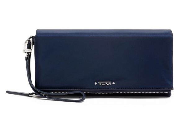Large image of TUMI Voyageur Indigo Travel Wallet - 110035-1438