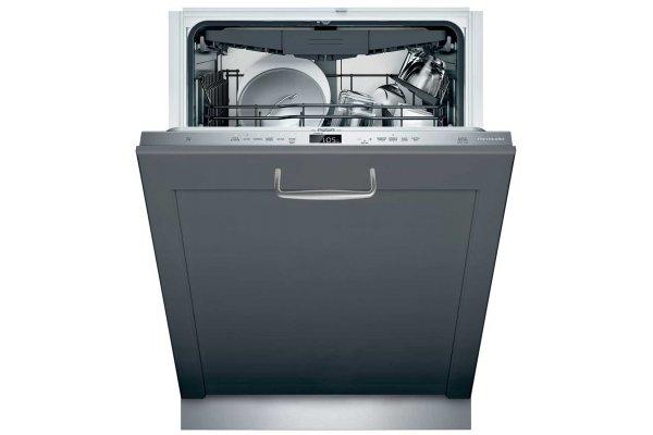 "Large image of Thermador Emerald 24"" Custom Panel 6 Program Dishwasher - DWHD650WPR"