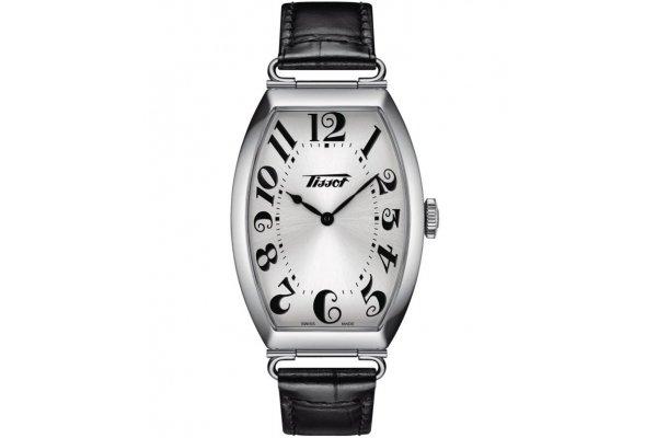 Large image of Tissot Heritage Porto Quartz Silver Dial Watch, 42.45mm - T1285091603200