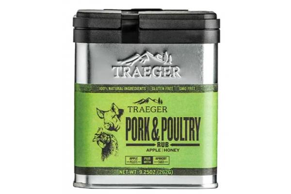 Large image of Traeger 9.25 oz Pork & Poultry Rub - SPC171