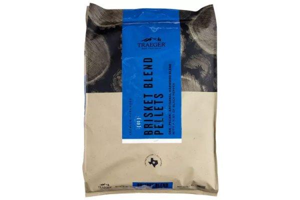 Large image of Traeger Limited Edition Brisket Blend Wood Pellets - PEL348