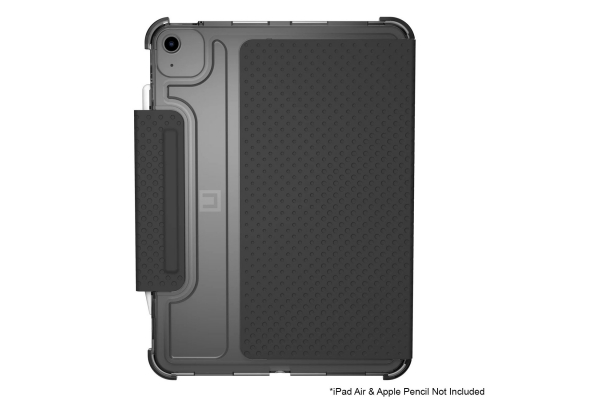 """Large image of Urban Armor Gear Lucent Ice Black iPad Air 10.9"""" Case (4th Gen, 2020) - 12255N314043"""
