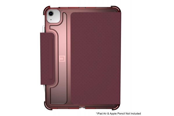 """Large image of Urban Armor Gear Lucent Aubergine/Dusty Rose iPad Air 10.9"""" Case (4th Gen, 2020) - 12255N314748"""