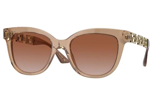 Large image of Versace Cat Eye VE4394 Sunglasses, Brown Gradient Lenses 54mm - VE439453331354
