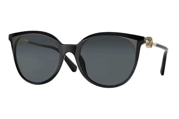 Large image of Versace Phantos VE4404 Black Sunglasses 55mm - VE4404GB18755
