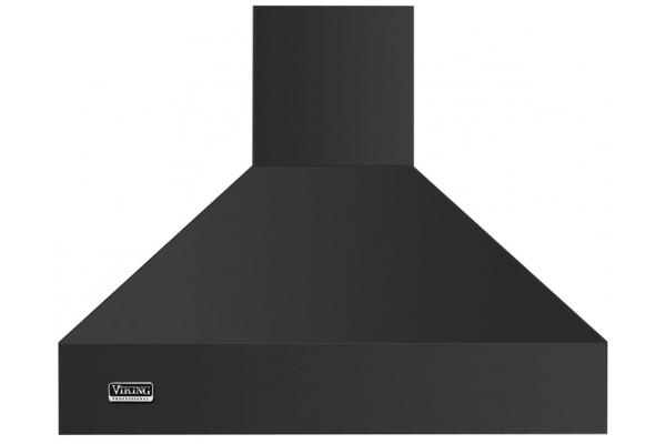 "Large image of Viking 36"" Professional 5 Series Cast Black Chimney Wall Hood - VCWH53648CS"