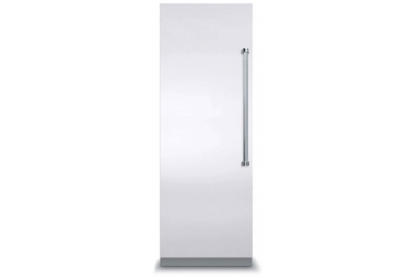"Large image of Viking 7 Series 30"" White Left-Hinge Fully Integrated All Freezer - VFI7300WLWH"