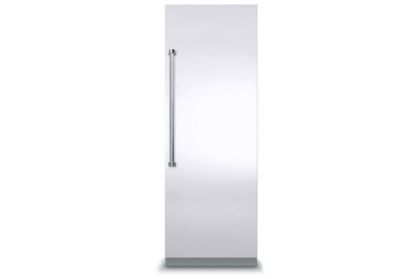 """Large image of Viking 7 Series 30"""" White Right-Hinge Fully Integrated All Freezer - VFI7300WRWH"""