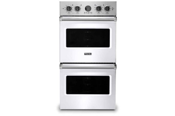 """Large image of Viking Professional 5 Series 27"""" White Premiere Double Wall Oven - VDOE527WH"""