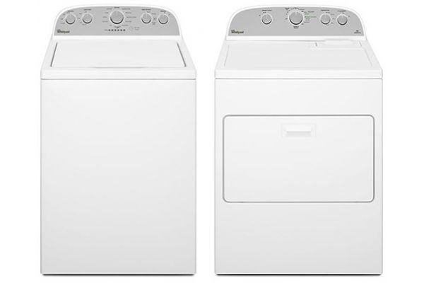 Large image of Whirlpool High-Efficiency Top Loading Washer with Electric Dryer - WHIRLAUNDRYPACK11