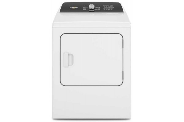 Large image of Whirlpool 7 Cu. Ft. White Moisture Sensing Electric Dryer With Steam - WED5050LW