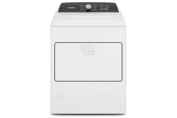 Large image of Whirlpool 7 Cu. Ft. White Moisture Sensing Gas Dryer - WGD5010LW