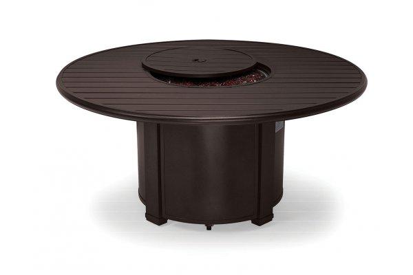 "Large image of Winston Furniture 54"" Slat Top Java Fire Pit - HQFP054JAV-WC"
