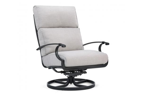 Large image of Winston Furniture Manor Cast Silver Ultra Swivel Tilt Lounge Chair - HQ42020BKN