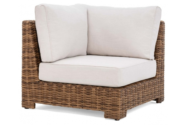 Large image of Winston Furniture Nico Cast Pumice Antique Chestnut Weave Center Sectional - HQ70032