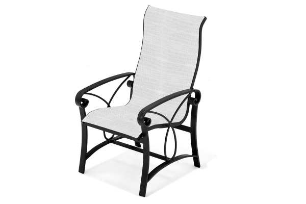 Large image of Winston Furniture Palazzo Sling High Back Dining Chair - HQ4341