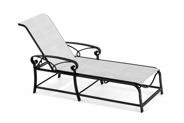 Large image of Winston Furniture Palazzo Sling Chaise Lounge - HQ4309