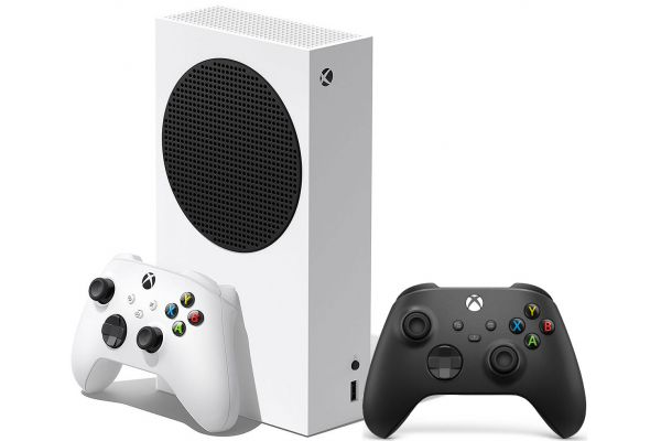 Large image of Microsoft Xbox Series S 512GB Game Console With Extra Controller - 889842651317