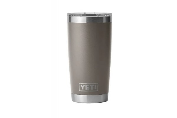 Large image of YETI Rambler 20 Oz Tumbler With MagSlider Lid In Sharptail Taupe - 21071500684