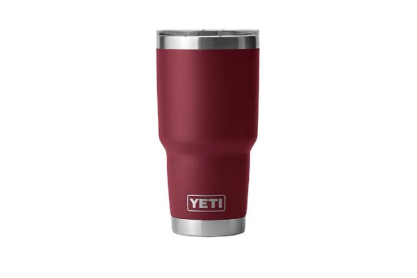 Large image of YETI Rambler 30 Oz Tumbler With MagSlider Lid In Harvest Red - 21071500666