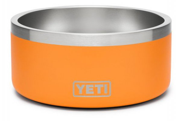 Large image of YETI King Crab Orange Boomer 4 Dog Bowl - 21071500499