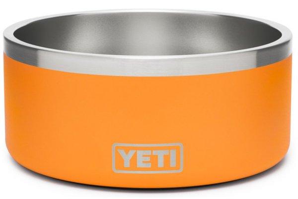 Large image of YETI King Crab Orange Boomer 8 Dog Bowl - 21071500500