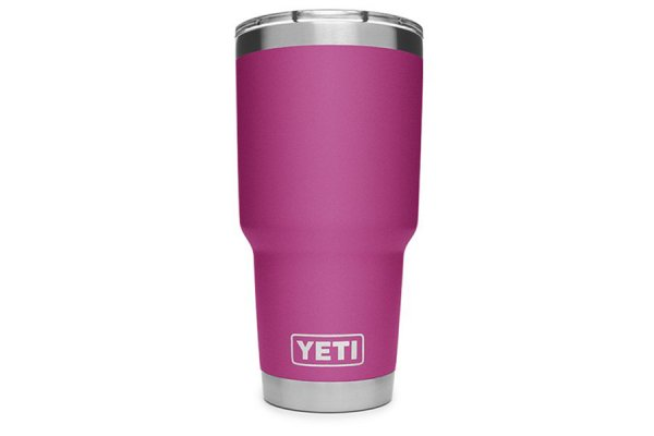 Large image of YETI Prickly Pear Pink 30 Oz Rambler With MagSlider Lid - 21070070071