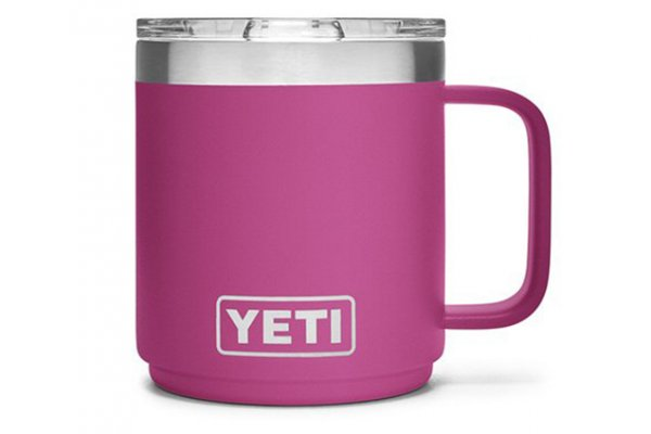 Large image of YETI Rambler 10 Oz Stackable Mug With MagSlider Lid In Prickly Pear Pink - 21071500526