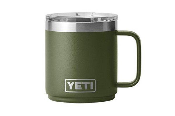 Large image of YETI Rambler 10 Oz Stackable Mug With MagSlider Lid In Highlands Olive - 21071500698