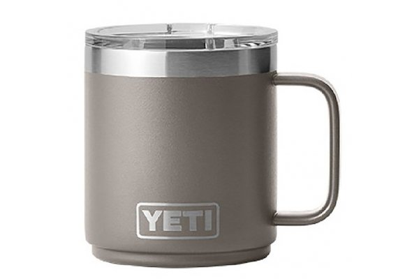 Large image of YETI Rambler 10 Oz Stackable Mug With MagSlider Lid In Sharptail Taupe - 21071500679