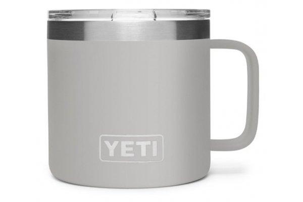 Large image of YETI Rambler 14 Oz Granite Gray Mug with MagSlider Lid - 21071500498