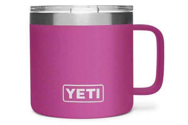 Large image of YETI Rambler 14 Oz Prickly Pear Pink Mug with MagSlider Lid - 21071500556
