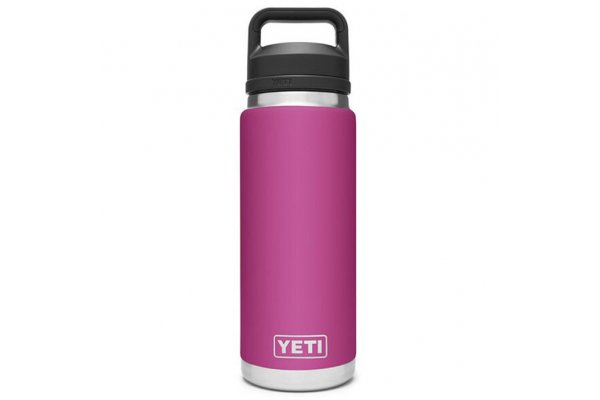 Large image of YETI Rambler Prickly Pear Pink 26 Oz Bottle With Chug Cap - 21071200045