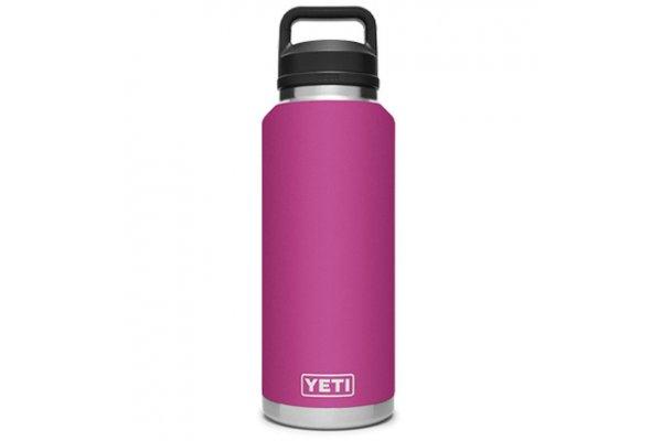 Large image of YETI Rambler Prickly Pear Pink 46 Oz Bottle With Chug Cap - 21071210000