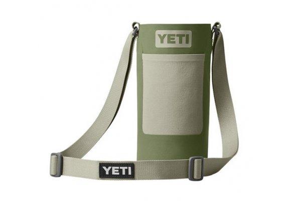 Large image of YETI Rambler Large Bottle Sling In Highlands Olive - 18060130089