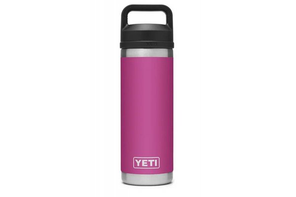 Large image of YETI Rambler Prickly Pear Pink 18 Oz Bottle With Chug Cap - 21071060041