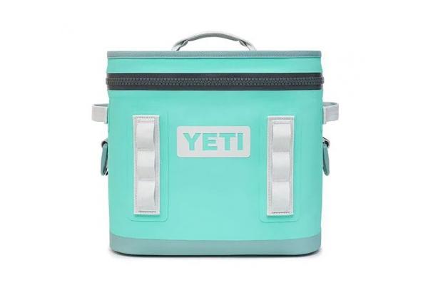 Large image of YETI Aquifer Blue Hopper Flip 12 Cooler - 18010130016