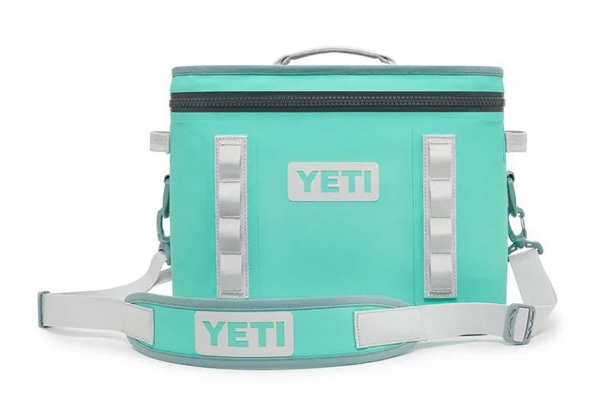 Large image of YETI Aquifer Blue Hopper Flip 18 Cooler - 18060130051