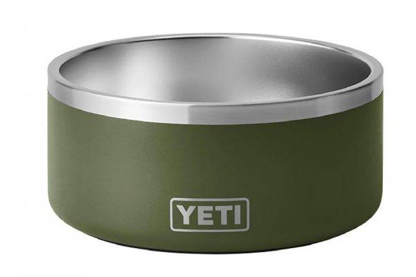 Large image of YETI Boomer 8 Dog Bowl In Highlands Olive - 21071500849