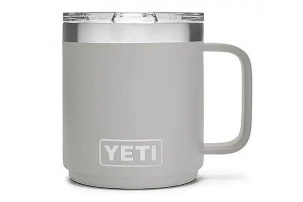 Large image of YETI Rambler 10 Oz Stackable Mug With MagSlider Lid In Granite Gray - 21071500517