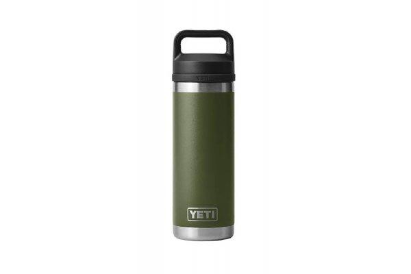 Large image of YETI Rambler 18 Oz Bottle With Chug Cap In Highlands Olive - 21071500708