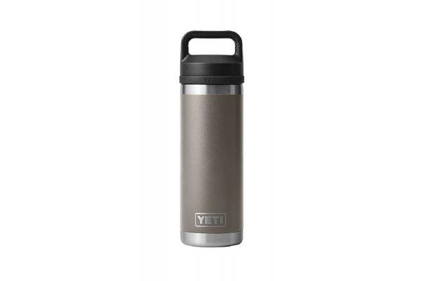 Large image of YETI Rambler 18 Oz Bottle With Chug Cap In Sharptail Taupe - 21071500689