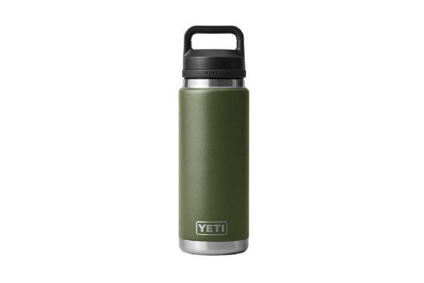 Large image of YETI Rambler 26 Oz Bottle With Chug Cap In Highlands Olive - 21071500709