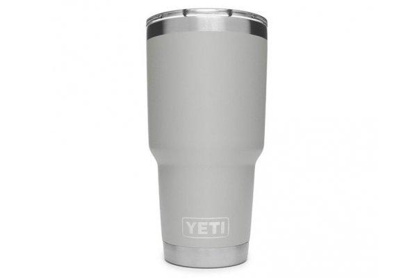 Large image of YETI Rambler 30 Oz Tumbler With MagSlider Lid In Granite Gray - 21071500466