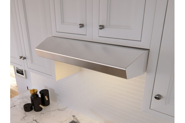 """Large image of Zephyr 36"""" Breeze I Under Cabinet Stainless Steel Wall Hood - AK1136BS"""