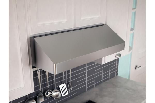 "Large image of Zephyr Gust 30"" Stainless Steel Under-Cabinet Range Wall Hood - AK7100BSBF"