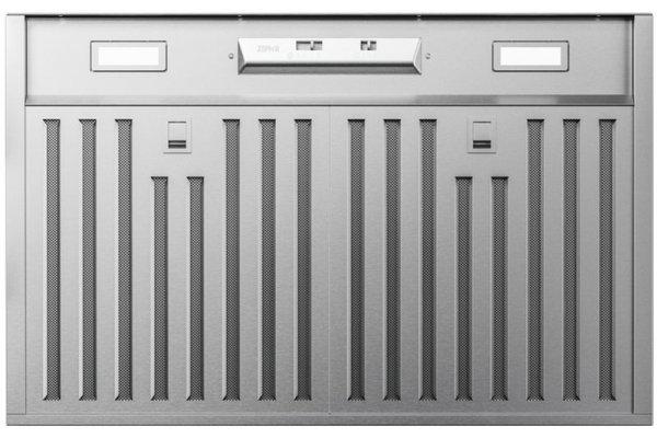 "Large image of Zephyr 30"" Stainless Steel Monsoon Mini Insert - AK9128BS"