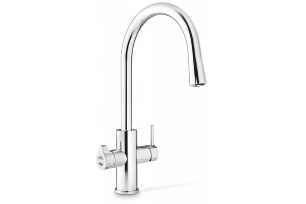 Large image of Zip Water HydroTap Celsius All-In-One For Home Nickel Boiling, Chilled And Sparkling Water Faucet - 01038363