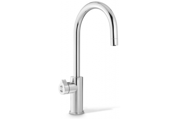 Large image of Zip Water HydroTap Arc For Home Nickel Boiling And Chilled Water Faucet - 01038373