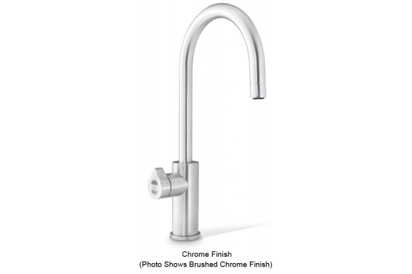 Large image of Zip Water HydroTap Arc For Home Chrome Chilled And Sparkling Water Faucet - 01038385